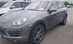 Проверка Porsche Cayenne 2012